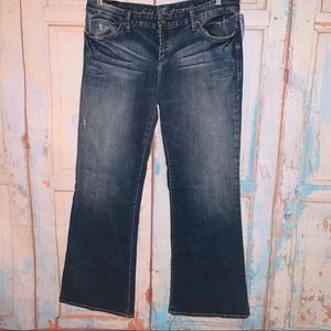 !it jeans Diva Cury Low Rider Boot 32 Short